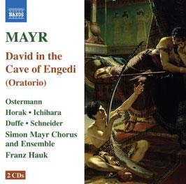 Simon Mayr: David in the Cave of Engedi (2CD, Naxos)