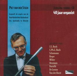 Piet van der Steen bespeelt de orgels van de Oud-Katholieke Kathedraal Ste. Gertrudis te Utrecht (2CD, Prestare)
