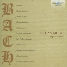 Bach Family: Organ Music (Brilliant)