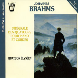 Johannes Brahms: Complete Piano Quartets (2CD, Arion)
