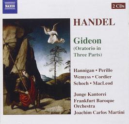 Georg Friedrich Händel: Gideon (2CD, Naxos)
