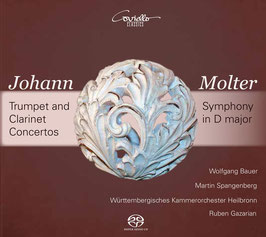 Johann Molter: Trumpet and Clarinet Concertos, Symphony in D major (SACD, Coviello)