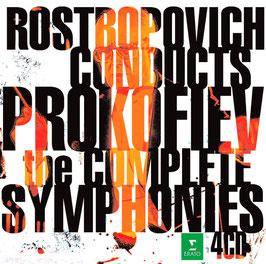 Sergei Prokofiev: The Complete Symphonies (4CD, Erato)