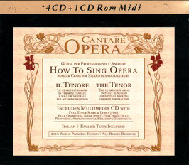 How to sing opera (4CD, CD-Rom)
