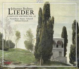 Johannes Brahms: Lieder, Complete Edition Vol. 10 (2CD, CPO)