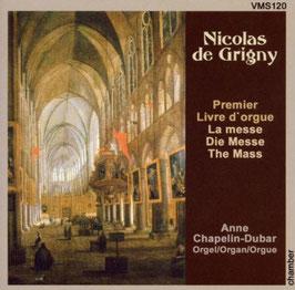 Nicolas de Grigny: Premier Livre d'orgue, La Messe (VMS)