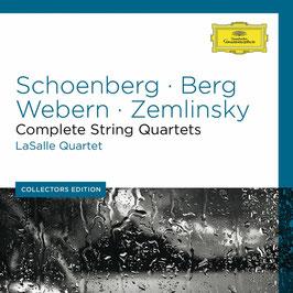 Arnold Schönberg, Alban Berg, Anton Webern, Alexander Zemlinksy, Hans Erich Apostel: Complete String Quarets (6CD, Deutsche Grammophon)
