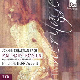 Johann Sebastian Bach: Matthäus-Passion (3CD, Harmonia Mundi)