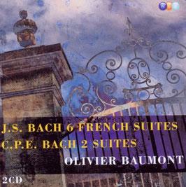 Johann Sebastian Bach: 6 French Suites (2CD, Warner)