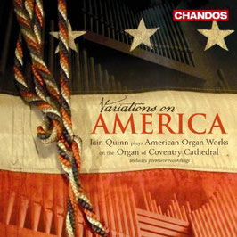 Variations on America: Copland, Ives, Cowell, Still, Barber, Paulus (Chandos)
