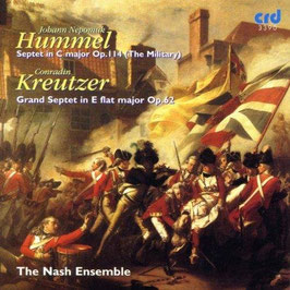 Johann Nepomuk Hummel: Septet in C major, op. 114 (The Military), Conradin Kreutzer: Grand Septet in E flat major Op. 62 (CRD)