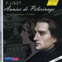 Franz Liszt: Années de Pèlerinage (3CD, Hänssler Classic)