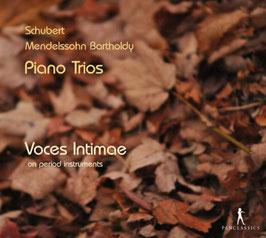 Franz Schubert, Felix Mendelssohn Bartholdy: Piano Trios (2CD, Pan Classics)