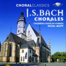 Johann Sebastian Bach: Chorales (6CD, CD-rom, Brilliant)