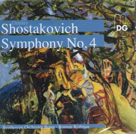 Dmitri Shostakovich: Symphony No. 4 (MDG)