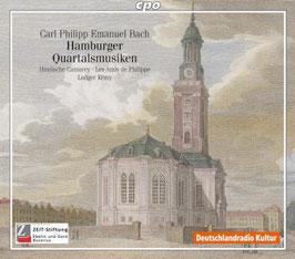 Carl Philipp Emanuel Bach: Hamburger Quartalsmusiken (2CD, CPO)