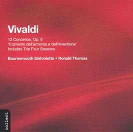Antonio Vivaldi: 12 Concertos Op. 8 'Il cimento dell' armonia e dell' inventione', The Four Seasons (2CD, Chandos)