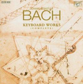 Johann Sebastian Bach: Keyboard Works (complete) (23CD, Brilliant)
