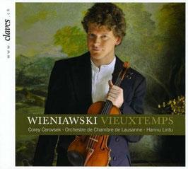 Henryk Wieniawski, Henri Vieuxtemps: Violin Concertos (Claves)