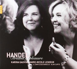Georg Friedrich Händel: Streams of pleasure (Naïve)