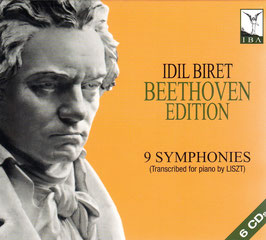 Ludwig van Beethoven: 9 Symphonies transcribed for piano by Liszt (6CD, IBA)