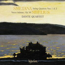 Bedrich Smetana: String Quartets 1 & 2, Jean Sibelius: Voces intimae op. 56  (Hyperion)