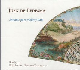 Juan de Ledesma: Sonatas para violin y bajo, Spanish violin music from the time of Ferdinand VI (Ramée)