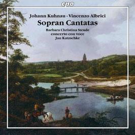 Johann Kuhnau, Vincenzo Albrici: Sopran Cantatas (CPO)