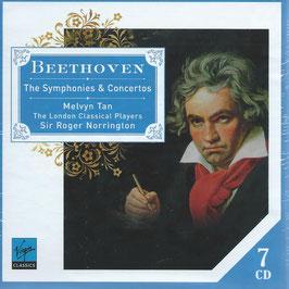Ludwig van Beethoven: The Symphonies & Concertos (7CD, Virgin)