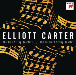 Elliott Carter: Five String Quartets (2CD, Sony)
