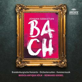 Johann Sebastian Bach: Brandenburgische Konzerte, Orchestersuiten, Kammermusik (13CD, Archiv)