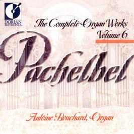 Johann Pachelbel: The Complete Organ Works Volume 6 (Dorian Recordings)