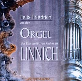 Felix Friedrich an der Orgel der Evangelischen Kirche zu Linnich: Bach, Handel, Torneri, Kuchar (Querstand)