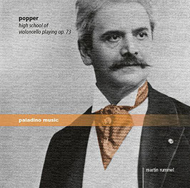 David Popper: High school of Violoncello playing op. 73 (2CD, Paladino Music)
