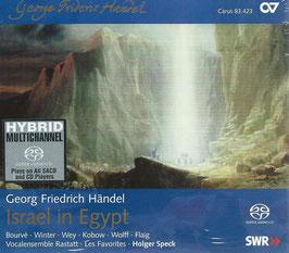 Georg Friedrich Händel: Israel in Egypt (2SACD, Carus)