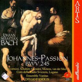Johann Sebastian Bach: Johannes-Passion (2CD, Arts Authentic)