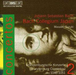 Johann Sebastian Bach: Brandenburg Concertos BWV 1046-1051 (2CD, BIS)