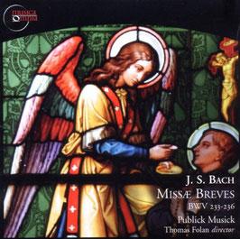 Johann Sebastian Bach: Missae Breves, BWV 233-236 (2CD, Musica Omnia)