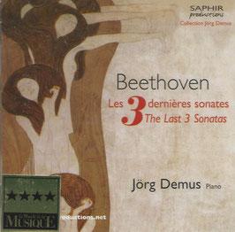 Ludwig van Beethoven: Les 3 dernières sonates (Saphir)