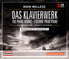Egon Wellesz: Das Klavierwerk (3CD, Capriccio)