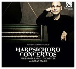 Johann Sebastian Bach: Harpsichord Concertos (2CD, Harmonia Mundi)