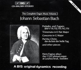 Johann Sebastian Bach: The Complete Organ Music Volume 2 (2CD, BIS)