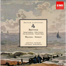 British Composers: Britten, Walton, Tippett (5CD, EMI)