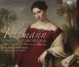 Georg Philipp Telemann: Complete Concertos & Trio Sonatas with viola da gamba (5CD, Brilliant)
