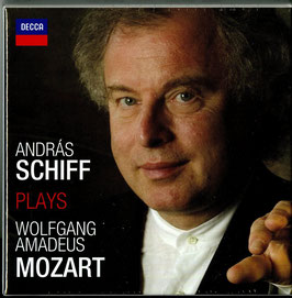 Wolfgang Amadeus Mozart: András Schiff plays Wolfgang Amadeus Mozart