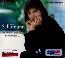 Robert Schumann: Davidsbündlertänze & Intermezzi (Mirare)