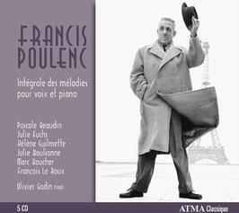 Francis Poulenc: Intégrale des mélodies pour voix et piano (5CD, Atma)