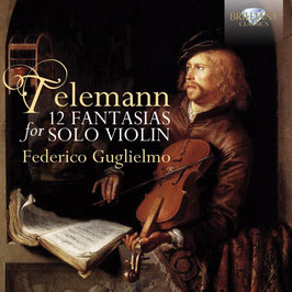 Georg Philipp Telemann: 12 Fantasias for Solo Violin (Brilliant)