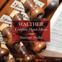 Johann Gottfried Walther: Complete Organ Music (12CD, Brilliant)