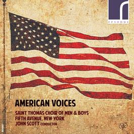 American Voices: Bernstein, Barber, Thompson, Hancock, Castellanos, Copland, Muhly, Rorem (Resonus)